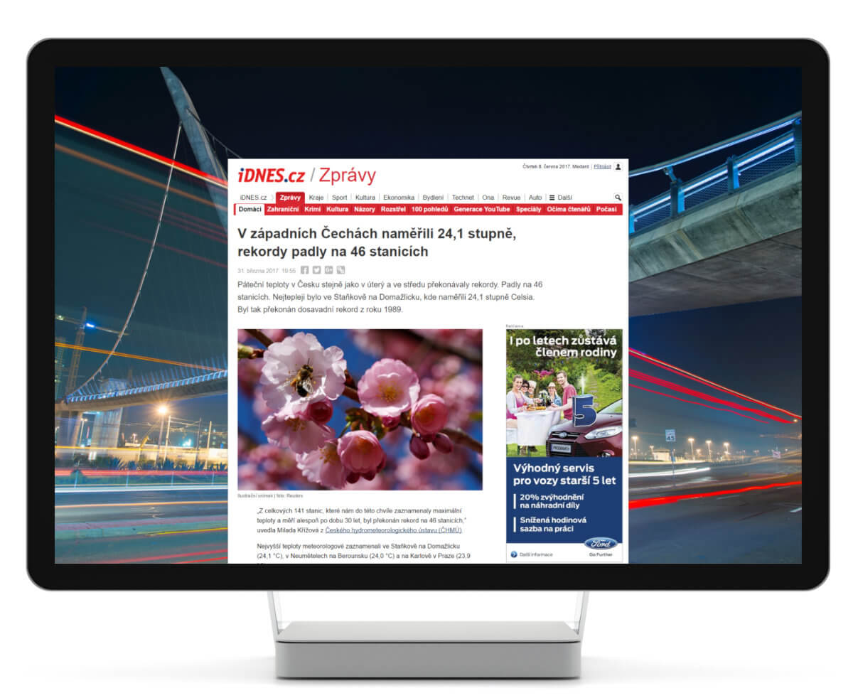 R2B2 introduces Video Skins. The largest online ad format is now even more attractive.