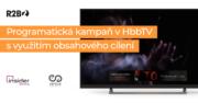 Programatická kampaň s využitím obsahového cílení v HbbTV pro Vertical Entertainment
