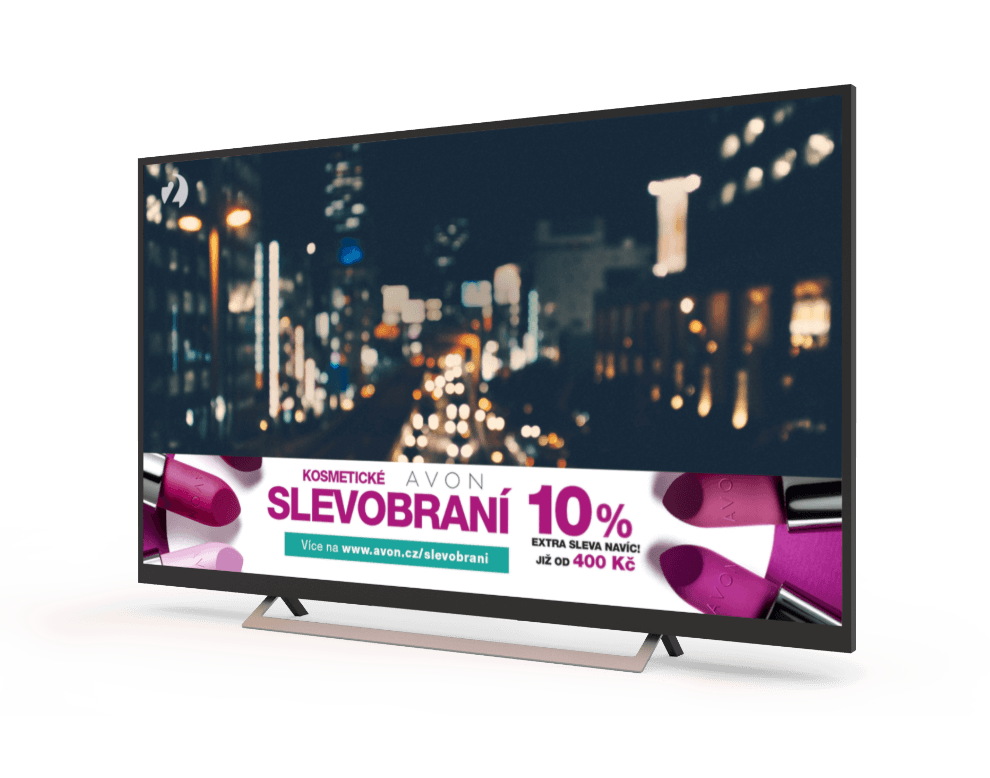 Programmatic campaigns for AVON on HbbTV