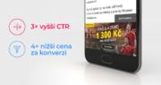 Mobilní Branding v programatické kampani pro FORTUNA GAME