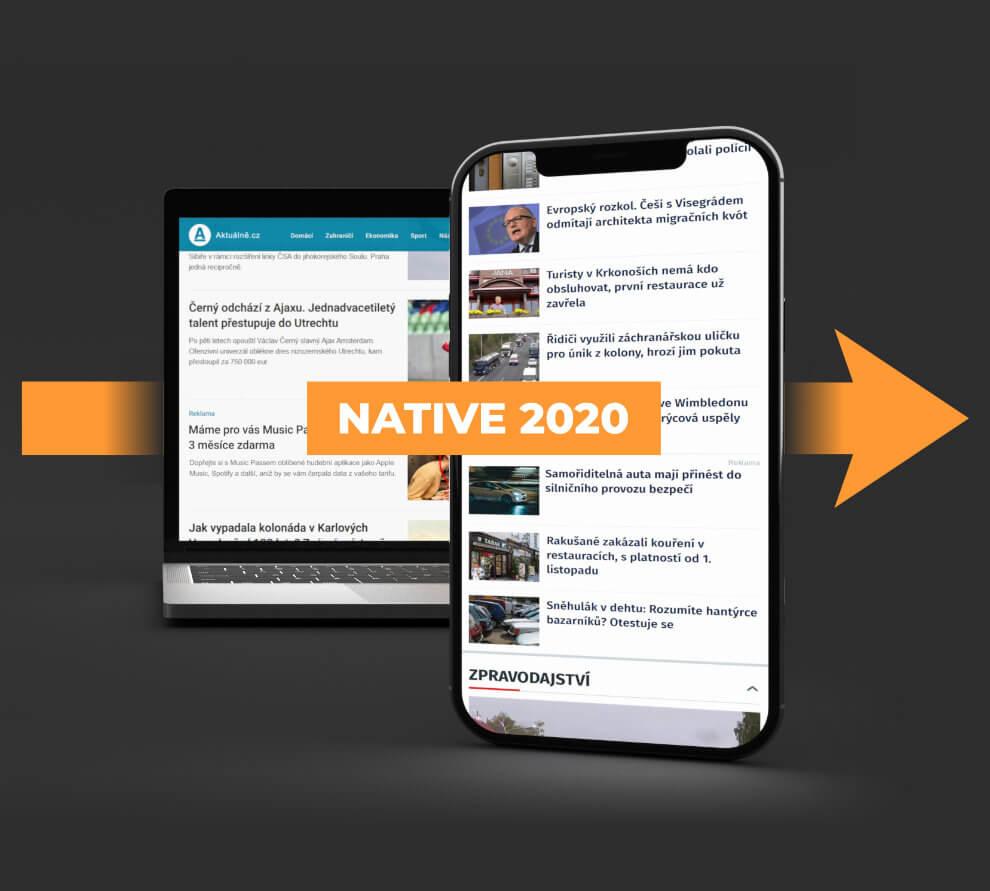 R2B2 rozšiřuje nabídku nativní reklamy pro rok 2020